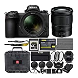 Nikon Z6 Mirrorless Camera with Nikkor 24-70mm Lens, Nikon 64GB XQD Card and Accessory Bundle (5 Items)