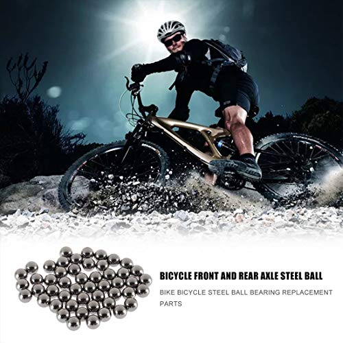 Formulaone 50 stücke Durable Fahrrad Edelstahl Ball Ersatzteile 4mm 5mm 6mm 8mm 9mm 10mm Fahrrad Fahrrad Stahl kugellager - 6