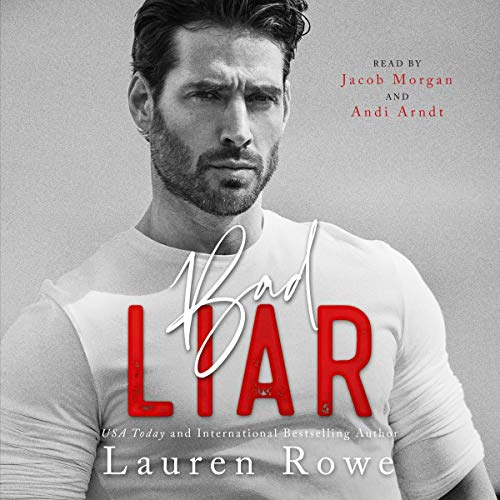 Bad Liar audiobook cover art