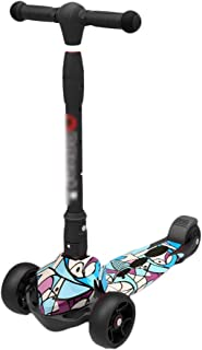 Kick Scooters Kids Scooters Three Wheel Scooter Mini 3-Wheeled Micro Scooter for Kids Folding Great for Girls Or Boys Ages 2-12
