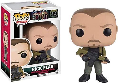 tian tian baby Pop Figur! DC Heroes - Rick Flag Sammler-Vinylfigur von Suicide Squad