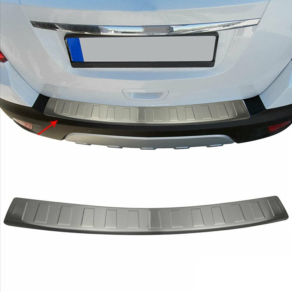 PISKEKAT Outstanding Customized Chrome Rear Bumper Guard Trunk Protecto Sill Gifts