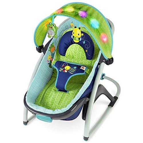Bright Starts/Kids II 60487 Transat convertible en berceau pour dormir, multicolore