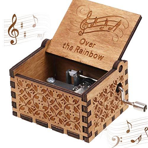 CDIYTOOL Caja de música de madera...