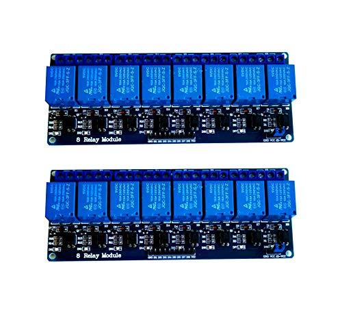 AptoFun 2 x 8 Kanaele Relais-Board-Modul für Arduino Raspberry Pi ARM AVR DSP PIC (2 x 8 Channels)