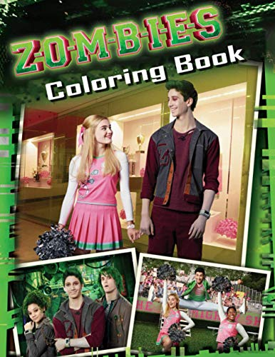 Zombies Coloring Book: Interesting coloring book, each page brings different pictures ddeer to help you increase your creativity suitable for fans of ... Great Pages with Premium Quality Images.