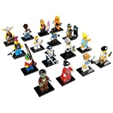 LEGO Minifigures Series 4 - Complete Set Of 16 Figures