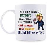 Regalos de cantinero Taza personalizada de Donald Trump Taza de café fantástica de cantinero Las mejores ideas de...