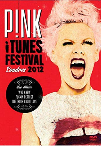 DVD Pink Itune Festival Londres 2012
