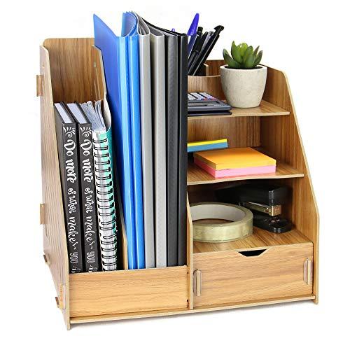 Wooden Desktop Organiser   Offic...