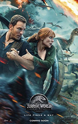 JURASSIC WORLD FALLEN KINGDOM MOVIE POSTER 2 Sided ORIGINAL Advance Version B 27x40 CHRIS PRATT