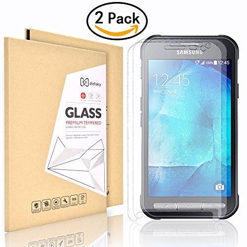 2 Pack Samsung Galaxy Xcover 3 Pellicola Protettiva,Didisky® Tocco Morbido [Vetro Temperato] Facile da Pulire Garanzia a Vita
