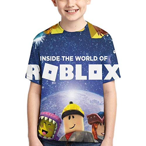 maichengxuan Niños/jóvenes Dabbing Ro-blox Camisetas 3D de manga corta para niños y niñas
