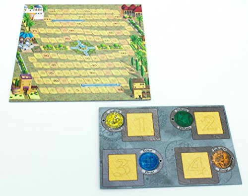 Queen Games - Alhambra, Gioco dell'anno 2003, per 2 - 4 Giocatori dagli 8 Anni in su [Lingua Tedesca]