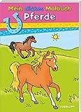 Mein dickes Malbuch. Pferde - Corina Beurenmeister