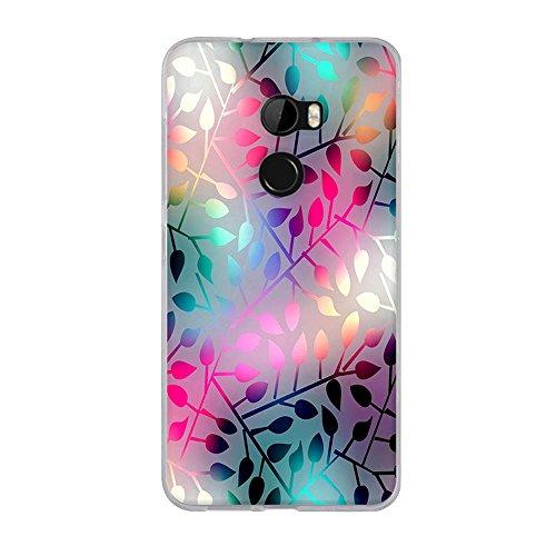 FUBAODA, Hülle für HTC One X10/für HTC E66, Ultra Dünn Soft Silikon Schutzhülle, Elegantes Kunstdesign Hochwertige Gummi Schutzhüllen, Handyhülle für HTC One X10/für HTC E66 (5.5
