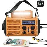 Best Crank Radios - 5000mAh Weather Radio,Solar Hand Crank Emergency Radio,NOAA/AM/FM Shortwave Review