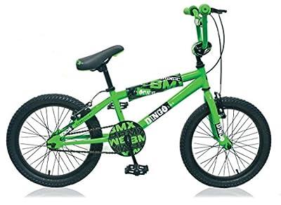 16 ZOLL Bmx Kinder Jungen Mädchen Fahrrad Rad Kinderfahrrad Bike Kinderrad Jungenfahrrad DINGO Grün