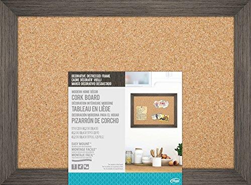 The Board Dudes: Cork Board - Distressed Wood Frame (17? X 23?)