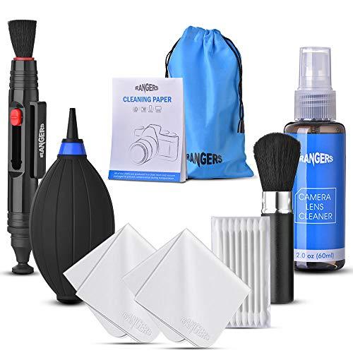 Rangers Kit de limpieza Profesional para cámaras DSLR y dispositivos electrónicos delicados, para cámara réflex Digital, Sensor, Lente y Limpieza de Filtro