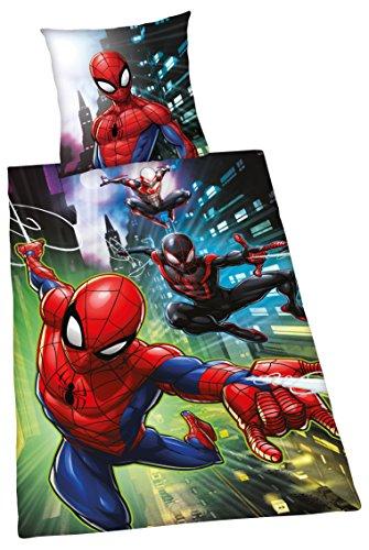 Herding Spiderman Set di Biancheria da Letto, Cotton, Multicolore, 140 x 200 cm, 70 x 90 cm