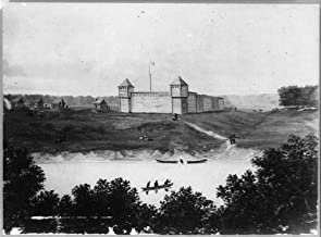 HistoricalFindings Photo: Fort Harrison,Terre Haute,Indiana,in,c1815,Vigo County