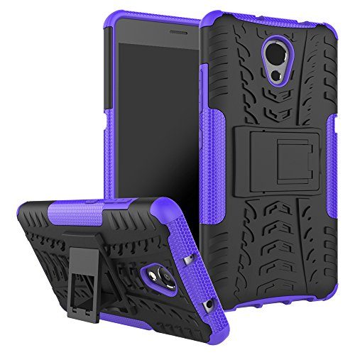Jielangxin Funda para Lenovo Vibe P2,Teléfono con Soporte a Prueba de Golpes Funda para Lenovo P2 P2a42 Carcasa Case Funda Purple