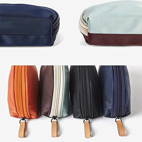 ZNOUSH Impermeable Lavado de Viaje Bolsa Decorativa Bolsa de Almacenamiento Bolsa de Almacenamiento Organizador de malla22 (Color : Blue Brown)