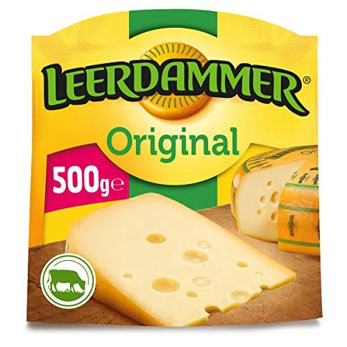 Leerdammer Original Schnittkäse 45 {7f32a3ff0b8bdeb092d2757a6241a40b0bcadc320b0e64d84c50f17fea06fd04} Fett 500 g Packung