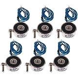 POFET Electroimán de succión KK-25/11 5KG 50N solenoide DC 12V Elevación, electroimán electro eléctrico