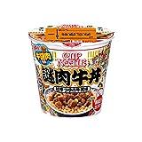 日清食品 カップヌードル 謎肉牛丼 114g X6個