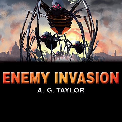 Enemy Invasion audiobook cover art