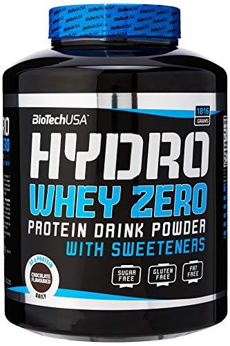 BioTechUSA Biotech Hydro Whey Zero 1860 g Protein Idrolizzate Del Siero 92%