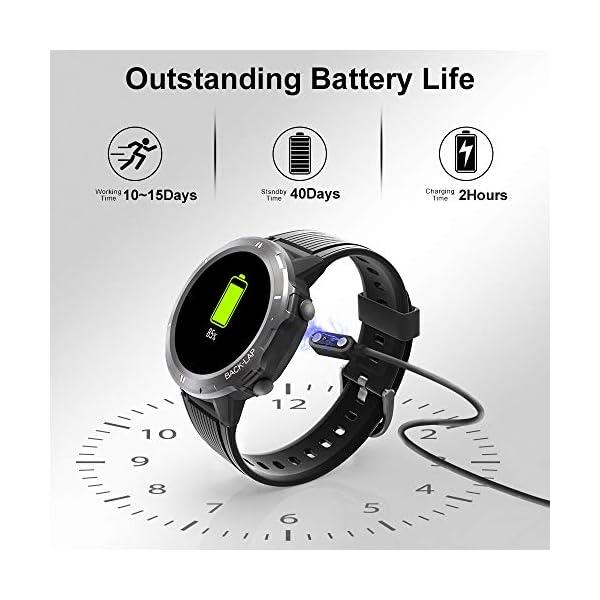 Blackview Smartwatch,Reloj Inteligentes Deportivo Fitness Tracker Hombre Mujer,Impermeable 5ATM Pulsera de Actividad… 3