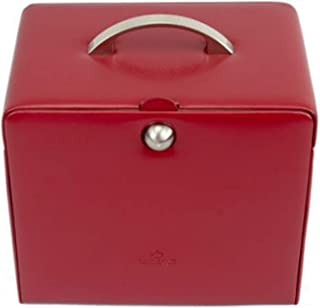 Windrose trousse /à bijoux Merino rouge