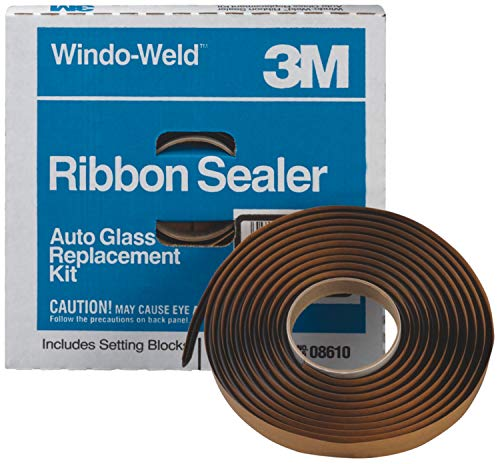 3M 08612 Windo Weld Round Ribbon Sealer, 3/8 inch x 15 ft Kit
