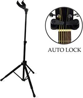 MIMIDI A/G Guitar Stand ,Triple Guitar Stand for Acoustic and Electronic Guitars,Bass and Uku