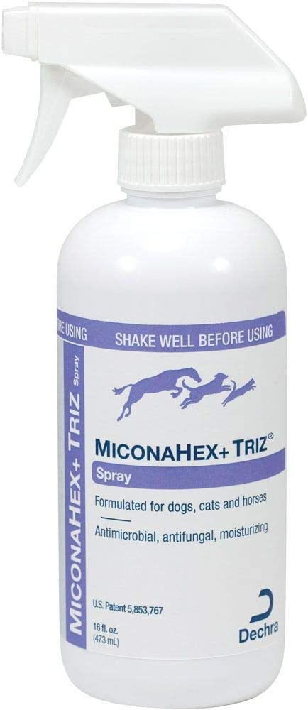 Dechra MiconaHex + Triz Spray OFFer Horses Dogs Cats New life for