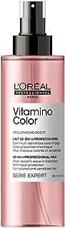 L'Oréal Professionnel   Lait Sans Rinçage Fixateur de Couleur pour Cheveux Colorés, Vitamino Color, SERIE EXPERT, 190 ml