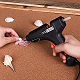 KKmoon Pistola de Silicona Caliente,Pistolas Encolar de Alta Temperatura para Manualidad/Artesanía de Bricolaje/Reparaciones Rápidas