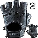 C.P. Sports Premium Leder Handschuh Extra Soft, Fitnesshandschuh Bodybuilding Fitness Crossfit...
