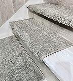 Oak Valley Designs Carpet Stair Treads - Style: Stoney Brook 27' (Set of 14), Castle