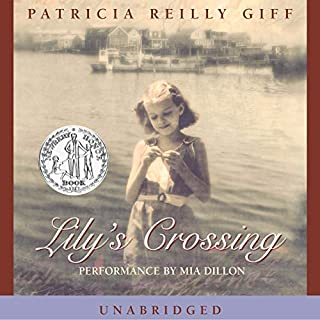 Lily's Crossing audiobook cover art