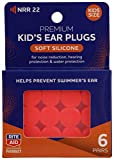 Rite Aid Pharmacy Silicone Ear Plugs Kids, 6 Pair