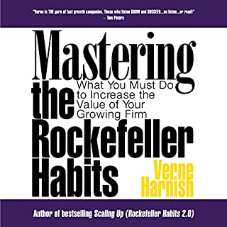 Mastering the Rockefeller Habits cover art