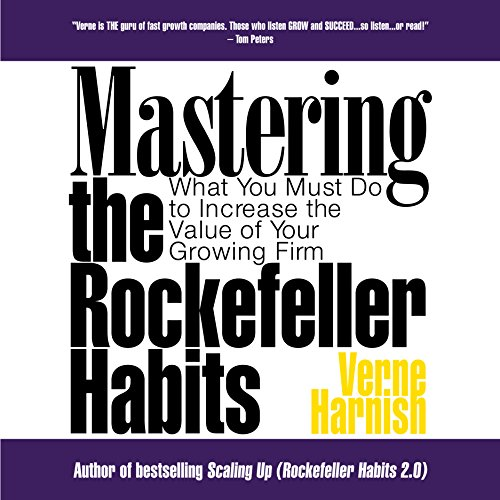 Mastering the Rockefeller Habits audiobook cover art