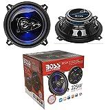 2 Lautsprecher kompatibel mit BOSS Audio Systems BE524 BE 524 4 Wege...