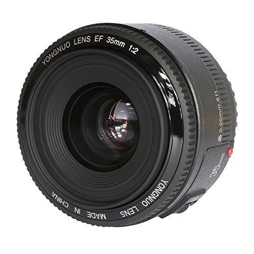 YONGNUO YN35 35 millimetri F2.0 Prime lente Grande Manuale Apertura Auto-grandangolare di messa a fuoco AF MF per Nikon DSLR + WINGONEER Flash Diffusore
