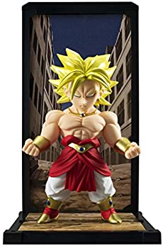 TAMASHII NATIONS Bandai Tamashii Buddies Super Saiyan Broly Dragon Ball Action Figure Multi-Colored  BAN92865