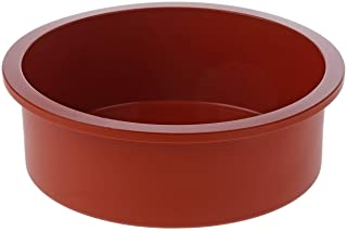 Silikomart 20.180.00.0060 SFT180 Moule Forme Ronde Silicone Terre Cuite, 220mm x 260mm x h65mm, Ø180mm